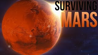 Surviving Mars - Welcoming Humans To Mars! - Sci Fi City Builder - Surviving Mars Gameplay Part 1