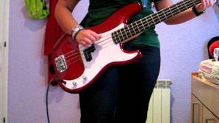 Green Day- Basket case (Bass cover)