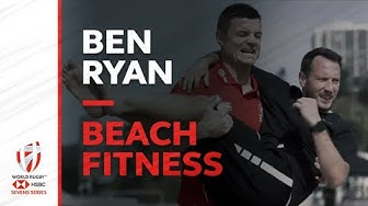 Ben Ryan's grueling beach fitness session with BOD