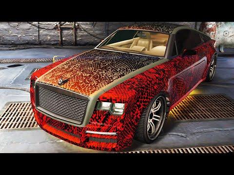 """GTA V - Pimp My Ride   Enus Windsor """"Rolls Royce Wraith"""" Car Tuning Customization (GTA V)"""