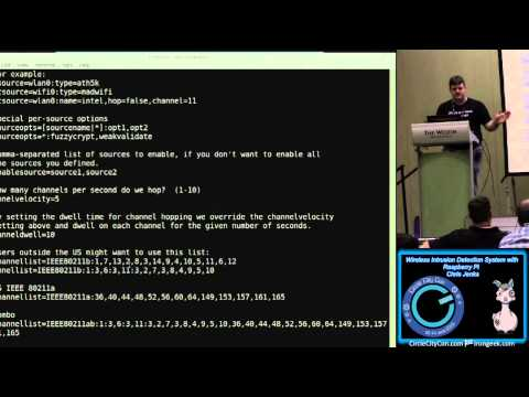204 Wireless Intrusion Detection System with Raspberry Pi Chris Jenks