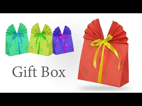 How to Make Paper Bags - DIY Gift Wrapping for Small Gifts