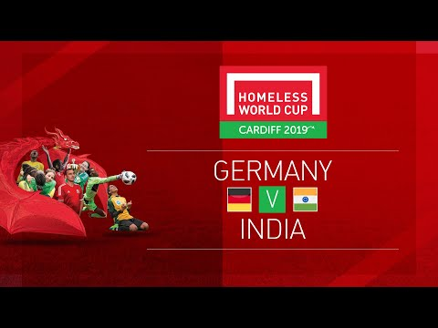 Germany vs India   Day 8, Pitch 1   Homeless World Cup 2019