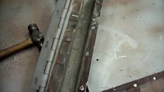 Metal Shrinking Willys CJ3B Welder Jeep Hood Repair