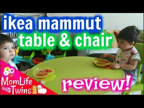 Ikea Kids Table And Chair Review Mammut
