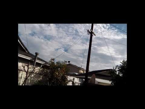 FBI Police Helicopter Hovering Over Home Organized Air Stalking Gang Part 1/2