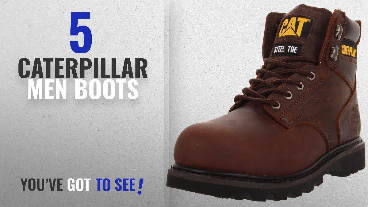 51163dea1ea Top 10 Caterpillar Men Boots [ Winter 2018 ]: Caterpillar Men's Second  Shift Steel Toe Work