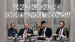 Download AhmadDhani hadir di Kongres Advokat Indonesia di samperin BALADEWI Cantik