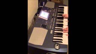 Korg PA-500 Strings Voc Bank Demo - Patch - 054   Odyssey