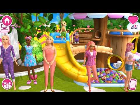 Barbie Dreamhouse Adventures - Barbie & Friends Dress Up, Dance - Simulation Game