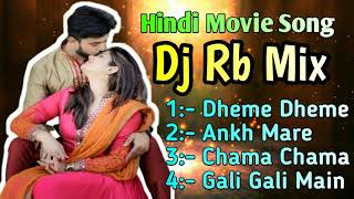 Hindi Movie Song Dj Rb Mix NonStop Dance Mix // Arpan Music Studio