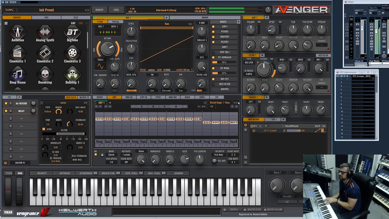 Download Vengence Producer Suite Avenger v1 4 10 +