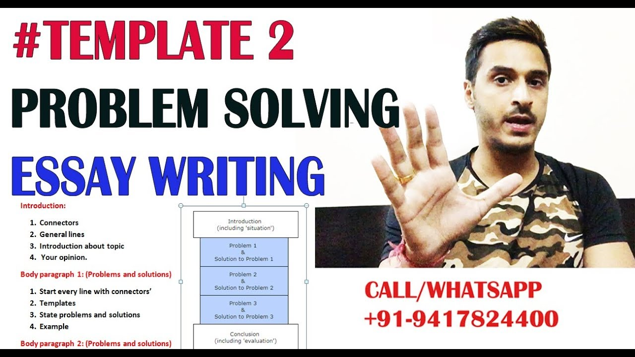 template problem solving essay writing in pte step by step   template 2 problem solving essay writing in pte step by step