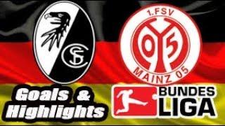 Freiburg vs Mainz 05 - 2018-19 Bundesliga Highlights #11