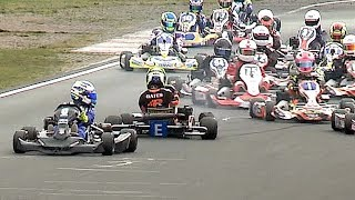 CRASH! Action Highlights from the S1 British Karting Championships Final Rd 9