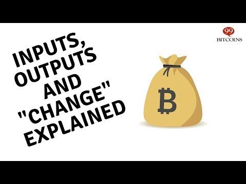 Inputs - Bitcoin