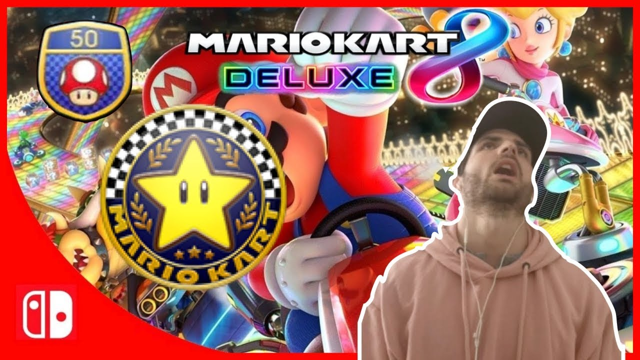 Mario Kart 8 Deluxe - 50cc - Coupe Fleur [Switch]