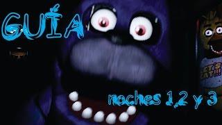 Guía definitiva completa en español de Five Nights At Freddy