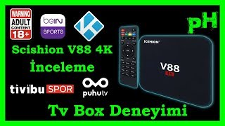 Scishion v88 4K İnceleme - Kodi Remote Uygulaması - TV Box yüklenmesi gereken uygulamalar