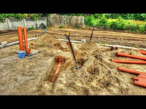 Wyzwanie # 12  Dzień 12/50 Jak Zrobić Kanalizację ?. Jak Wybudować Dom? Ile Kosztuje Budowa Domu?