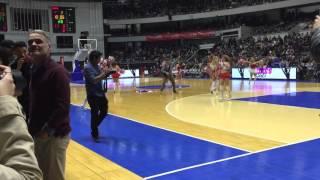 Papi LUCIEN au Palais des sports de Lyon