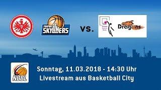 NBBL Heimspiel der Eintracht Frankfurt / FRAPORT SKYLINERS gegen Bonn / Rhöndorf