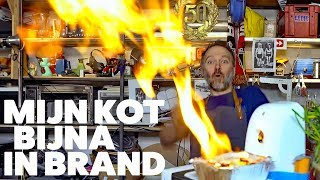 Koterij #76: Mijn kot stond bijna in brand