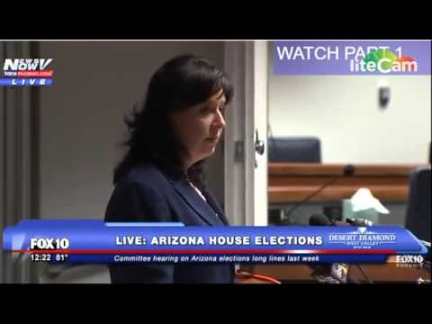 Arizona Secretary of State Michele Reagan confirms voter fraud 2016