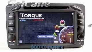 Seicane-Quad-core 1998-2004 Mercedes CLK200 CLK230 CLK320 autoradio GPS system tv in dash dvd player(, 2015-08-25T08:03:02.000Z)