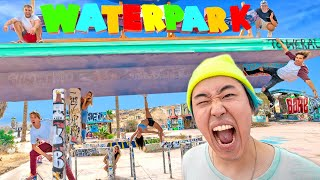 HIDE AND SEEK AT ABANDONED WATERPARK w/ THE MOB
