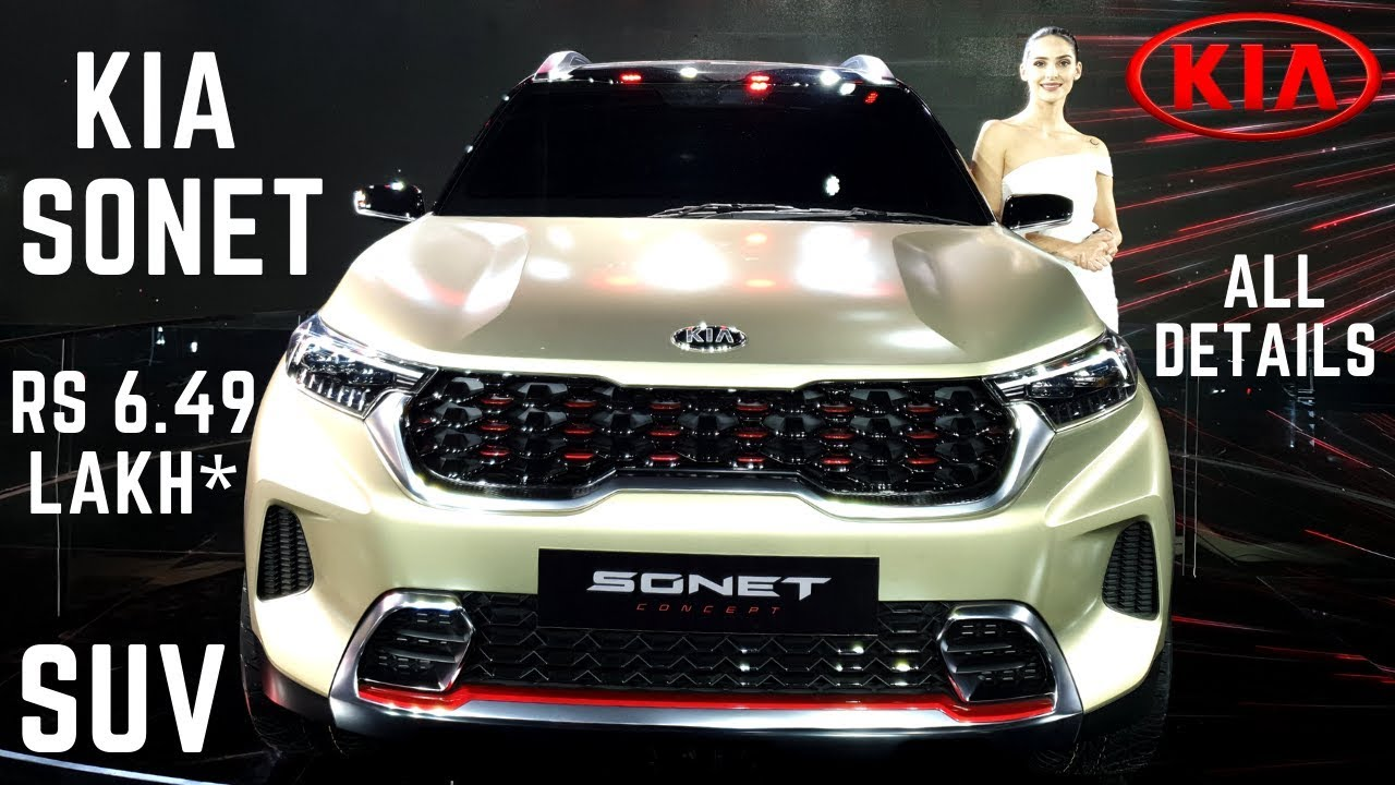 2020 Kia Sonet India Launch Rs 6 49 Lakh Premium Suv Price Variants Features Detailed Review Youtube