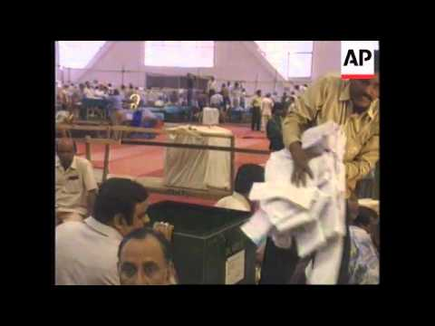 INDIA: VOTE COUNT BEGINS FOLLOWING PARLIAMENTARY ELECTION