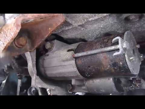 2006 montana mini van starter removal and install youtube 2006 Chevrolet Uplander Starter Wiring Diagram i need instruction for switching out a