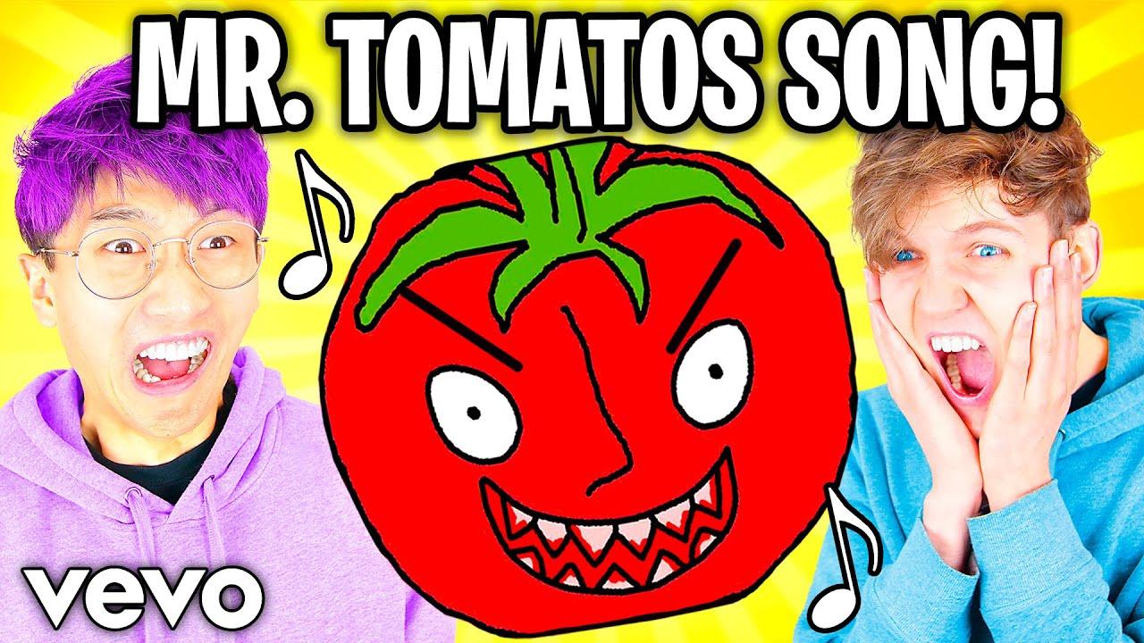 THE MR. TOMATOS SONG! ?? (LankyBox AUTOTUNE REMIX!) *LANKYBOX MUSIC COMPILATION!*