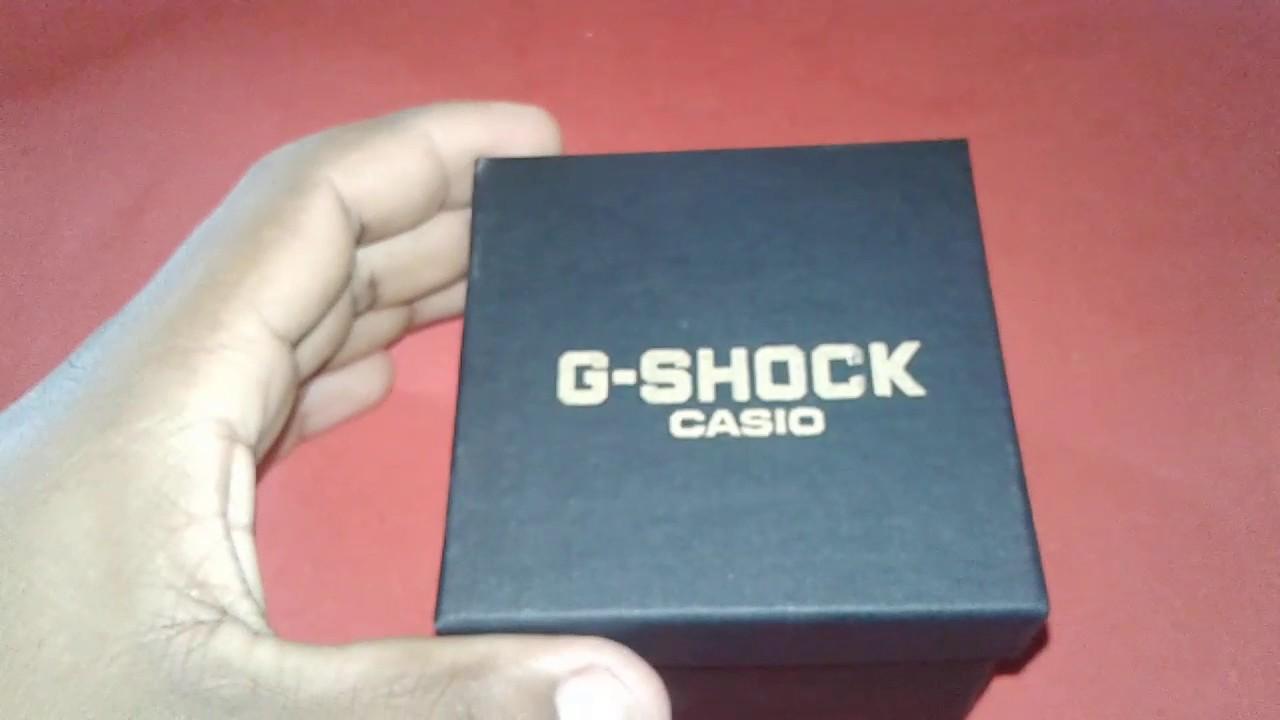c7bcb4fe833 Relógio G-shock Casio comprado no Brás shop 25 - YouTube
