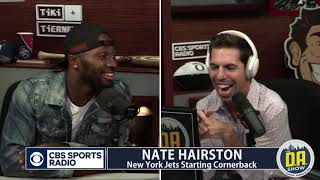 "Nate Hairston On Le'Veon Tweet: ""We Talked About It As A Team"" I D.A. on CBS"