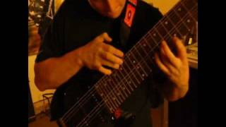 Long Distance Runaround (intro) on a Box Guitars SRB-640