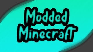 Solo modded minecraft thumbnail