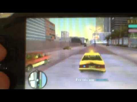 video gta vice city stories sur psp