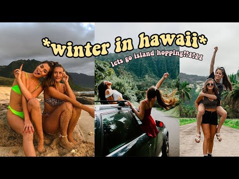 what youtubers living in hawaii do in the winter!!!