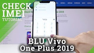 How to Check IMEI & SN in BLU Vivo One Plus 2019 – IMEI Information