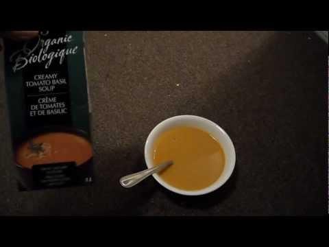 Review Imagine Organic Tomato Basil Soup Dairy milk cream Gluten Lactose Casein Free