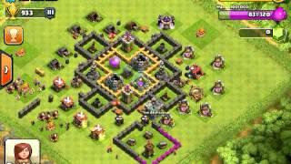 Clash of Clans - Village de mon clans n*2