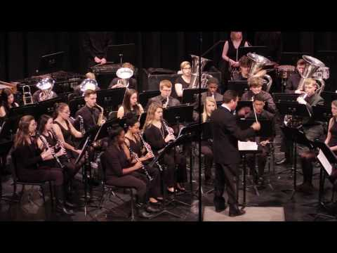 Cape Fear HS Wind Ensemble - The Hounds of Spring - Alfred Reed