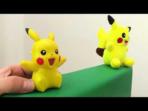Битва Покемонов: #ПИКАЧУ против #СКВИРТЛ Кто победил? Видео с игрушками
