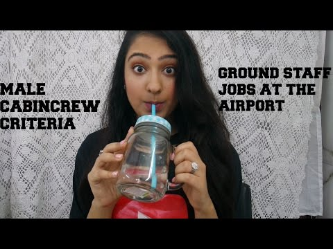 MALE CABIN CREW CRITERIA & GROUND STAFF JOBS AT AIRPORTS
