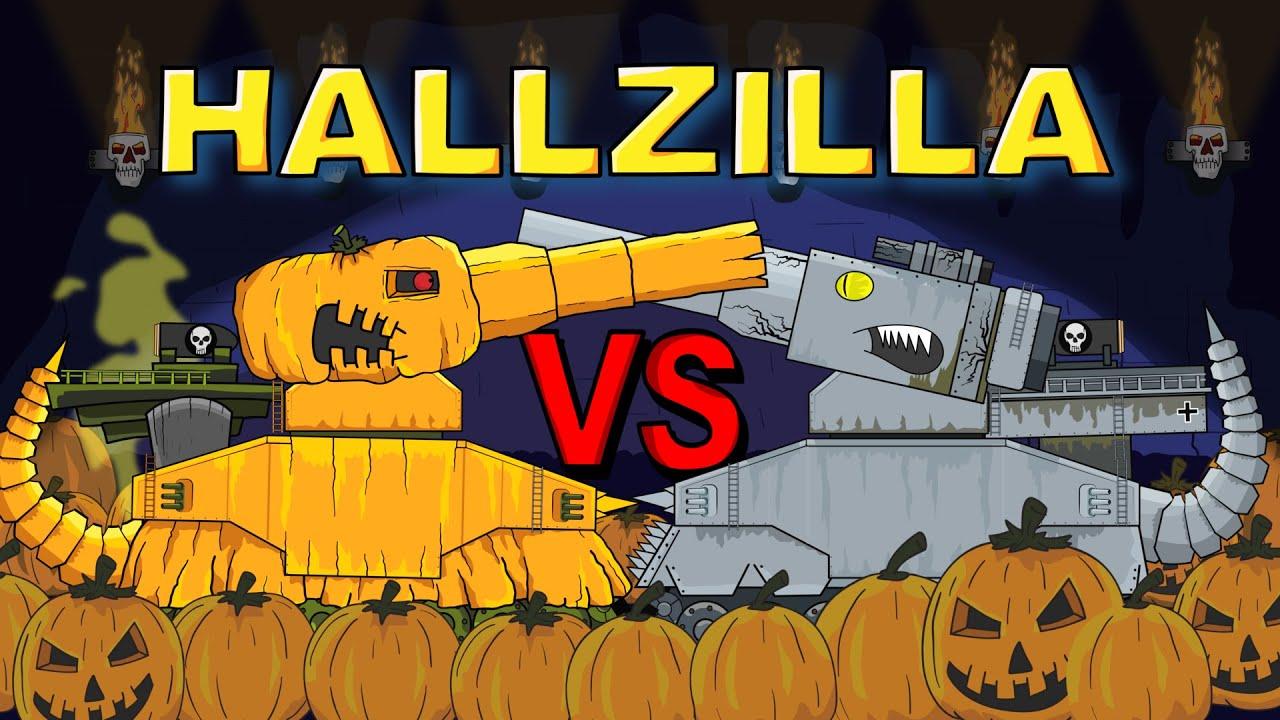 """Download """"Hallzilla vs. Dorzilla"""" Cartoons about tanks"""