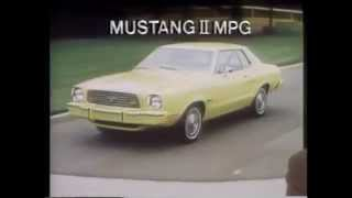 1976 Ford Mustang TV Ad Commercial (2 of 5)