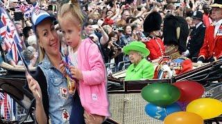 Vlog.Эльвира На Дне Рождение Английской Королевы Елизаветы.Queen Elizabeth birthday!2016