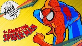 Die Geschichte von Spider-Man   Retro Klub